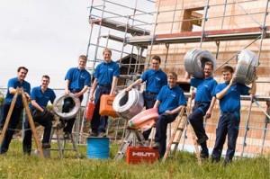 Team von Wammetsberger Elektrotechnik und Photovoltaik